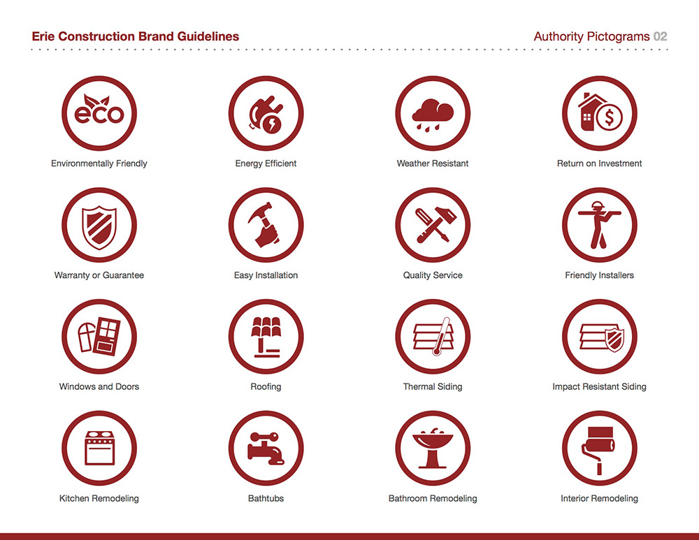 Authority Pictogram Set