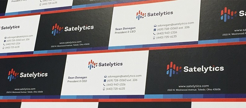 Satelytics Business Cards